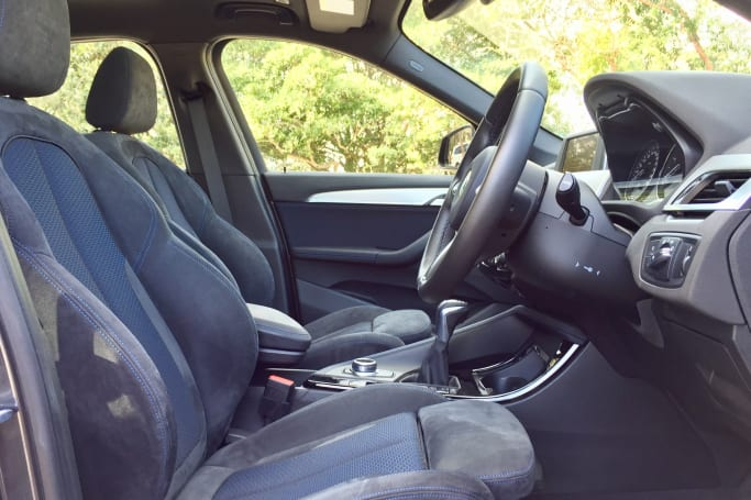 Our Car Had The M Sport Pack Which Lifts Interior To A Much Higher