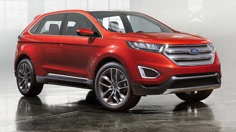 This Also Is Not The Replacement For The Ford Territory Contrary To Other Reports The Ford Edge Unveiled In The Us Earlier This Year Is A Five Seat Suv