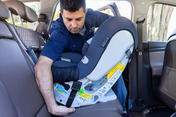 7c5f67a86 Baby Car Seat Installation - How to Install a Car Seat Correctly ...