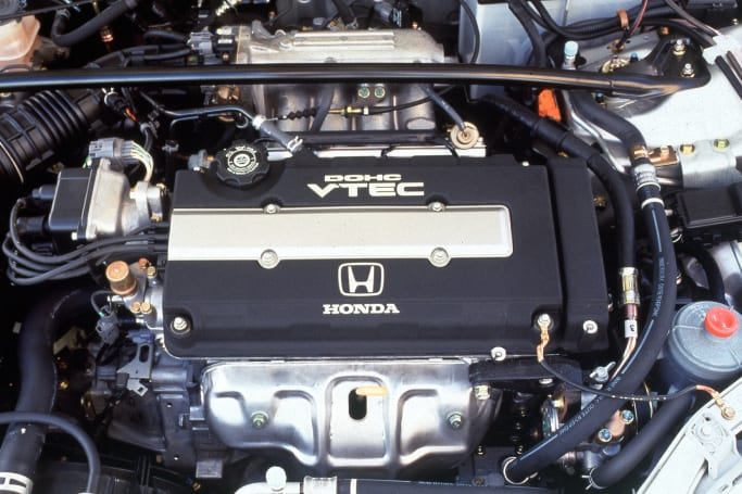 the 1 6-litre double-overhead cam vtec engine