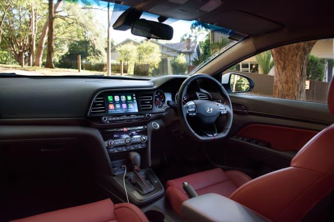 Hyundai Elantra 2019 Review Sport Carsguide