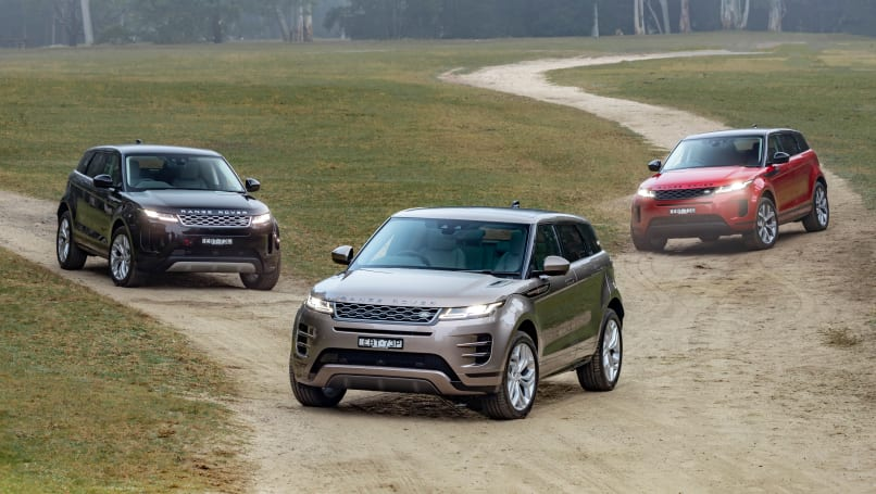 Range Rover Evoque 2019 review | CarsGuide