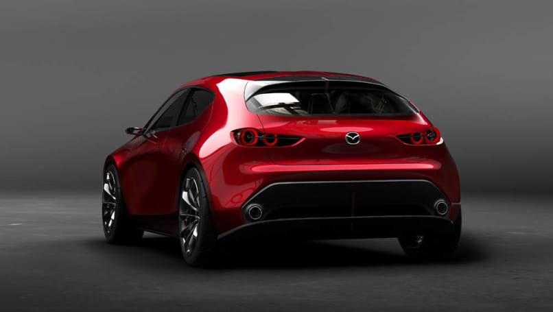 2017 Mazda 3 Engine >> Mazda 3 2019 previewed by Kai concept in Tokyo - Car News | CarsGuide