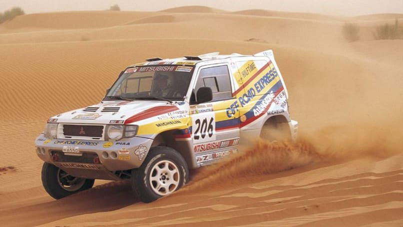 Jdm Obscurities Mitsubishi Pajero Evolution Carsguide Oversteer