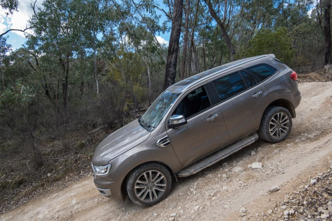 The 2019 Ford Everest Titanium handled everything with ease.