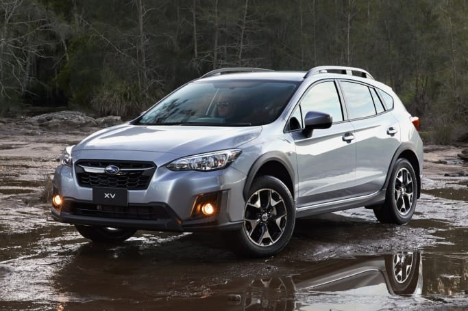 2018 subaru xv red. plain 2018 the new xv looks a lot like the old one 20i shown with 2018 subaru xv red