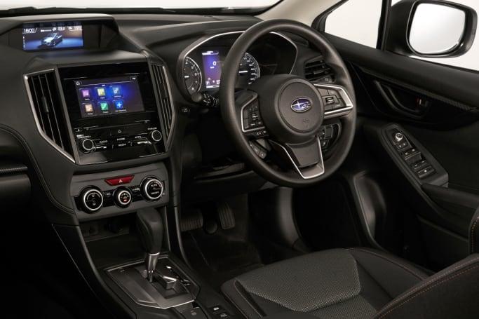 Subaru xv features