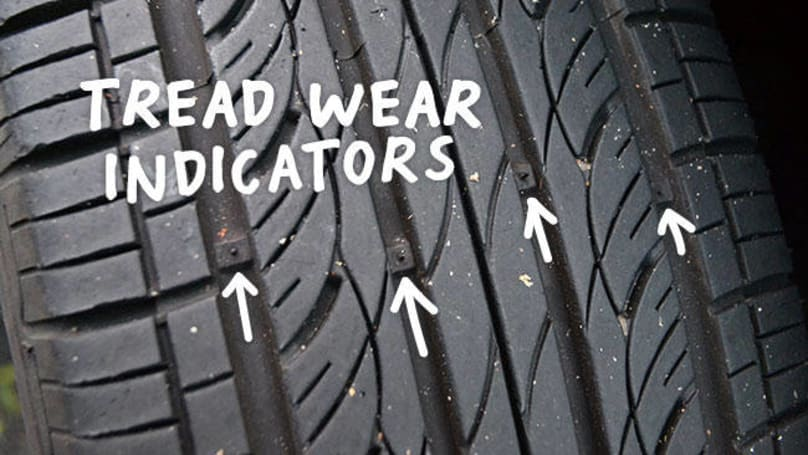 Tire Tread Wear Indicator >> How Do I Know When My Car Needs New Tyres Car Advice Carsguide