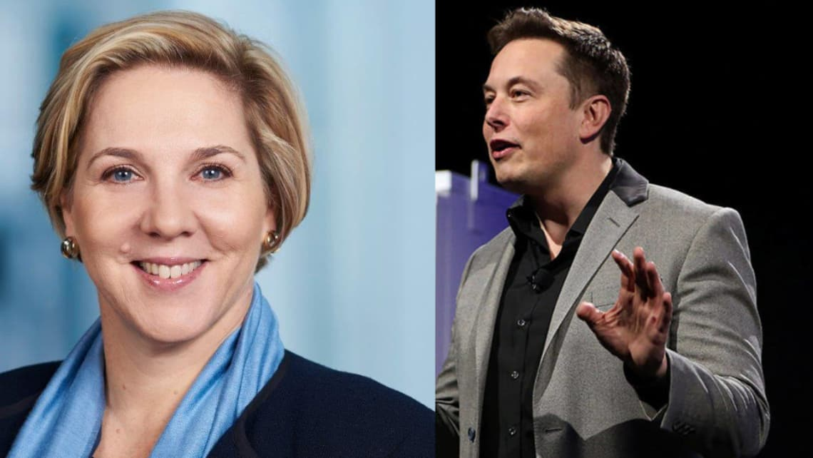 Image result for tesla, chairwoman