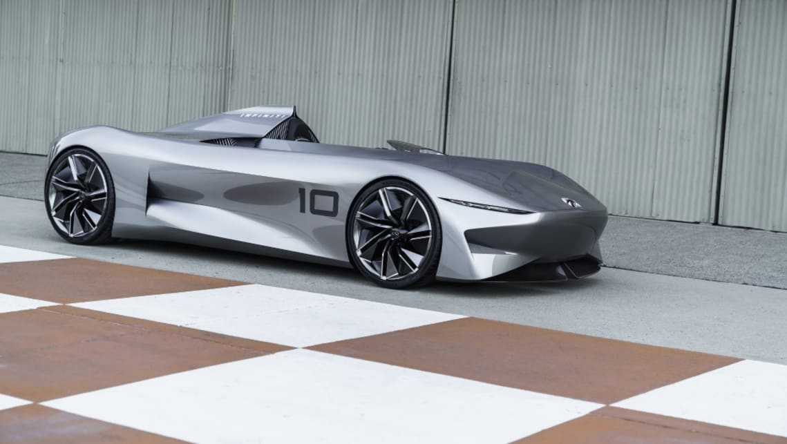 The EV speedster signals the Japanese brand's future design direction.