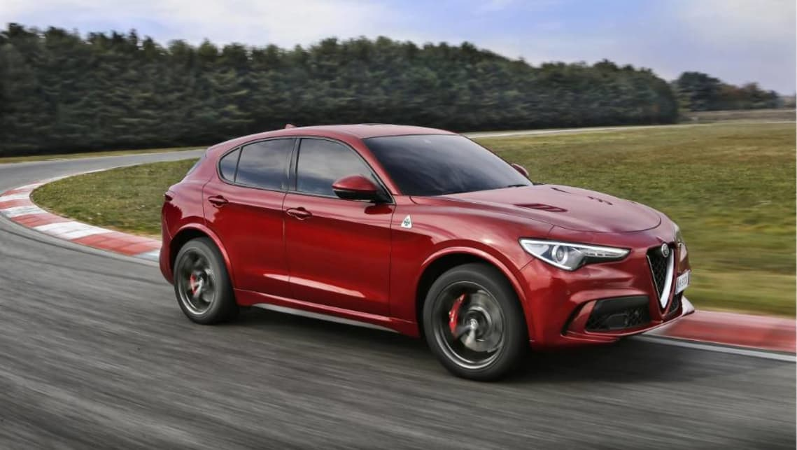 alfa romeo stelvio quadrifoglio 2019: australian pricing confirmed