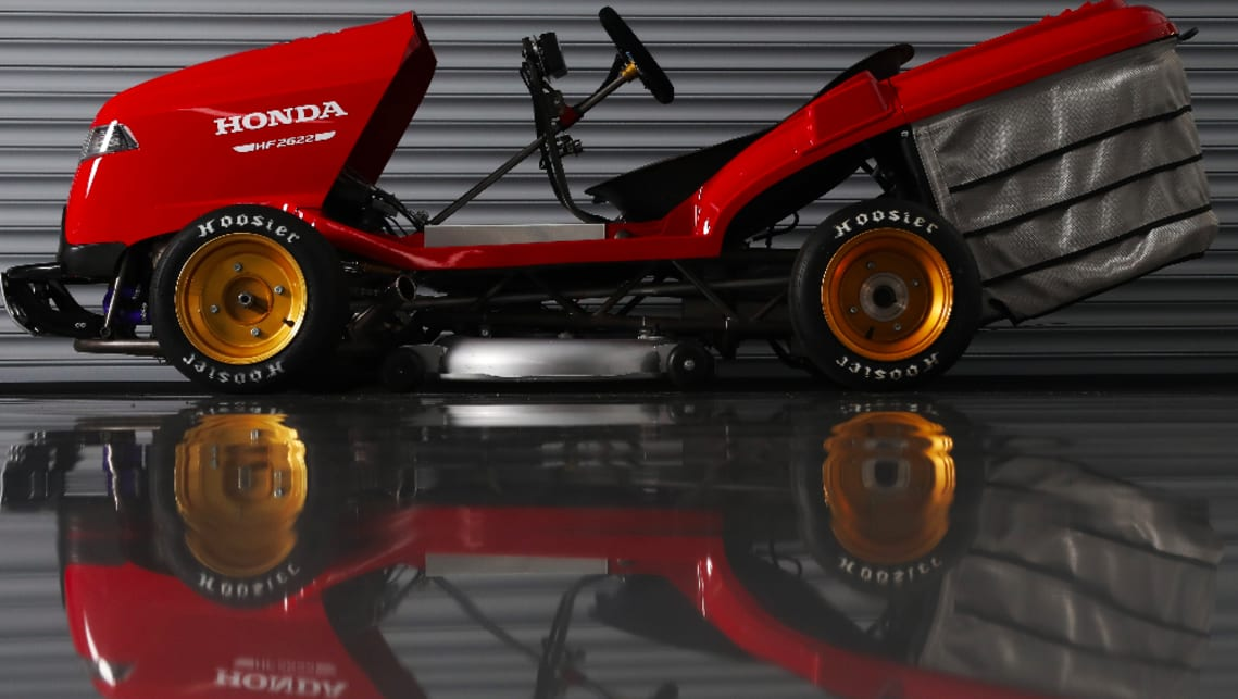 Honda Mean Mower V2: the 241km/h lawnmower from hell