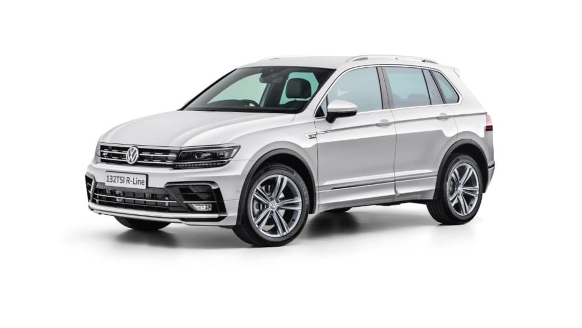 2020 VW Tiguan: Design, Specs, Price >> Volkswagen Tiguan 132tsi R Line Edition Pricing And Specs Revealed