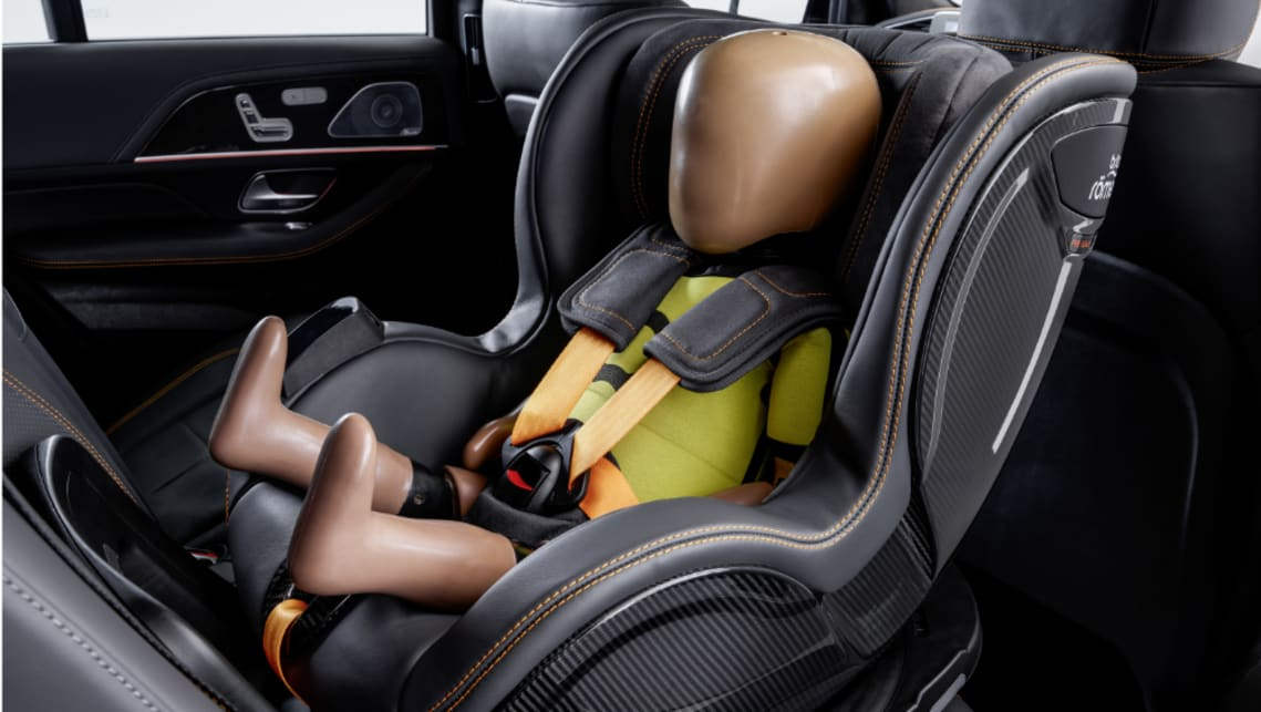 Benz is working on a safer, smarter car seat