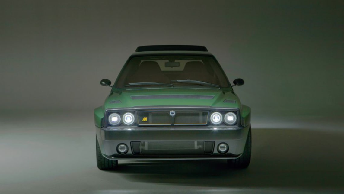 the lancia delta futurista is the $500k hot hatch you need to have