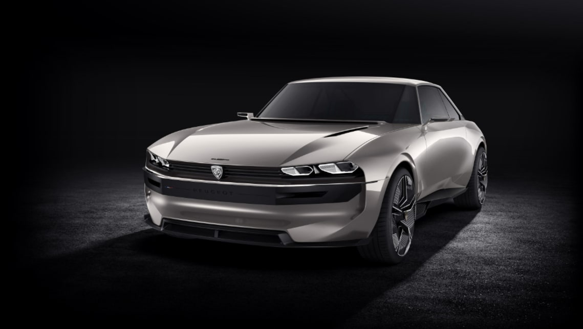 Peugeot E Legend Concept Back To The Future For French Ev
