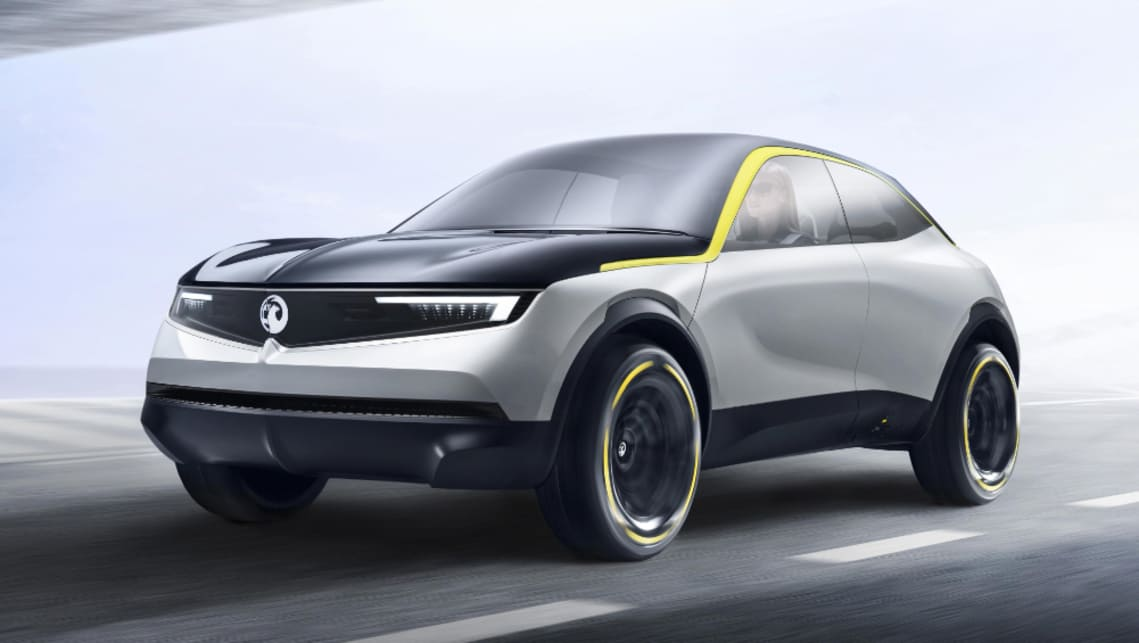 The concept debuts the future direction of Holden's sister brand.