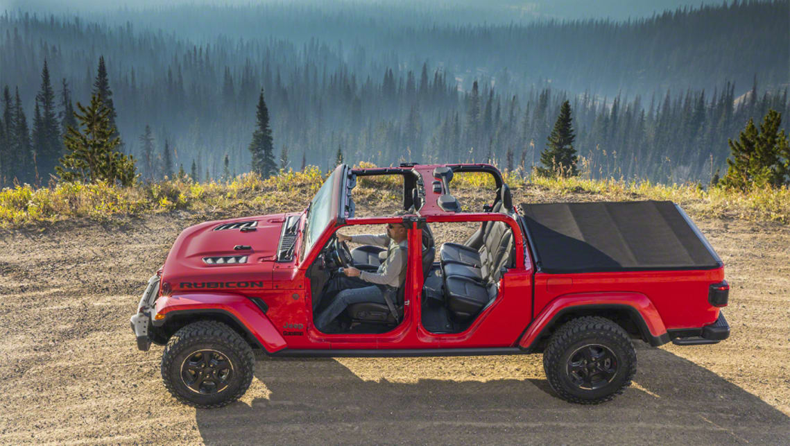 Jeep Gladiator 2020 Watch This Space For Hemi V8 Car News Carsguide