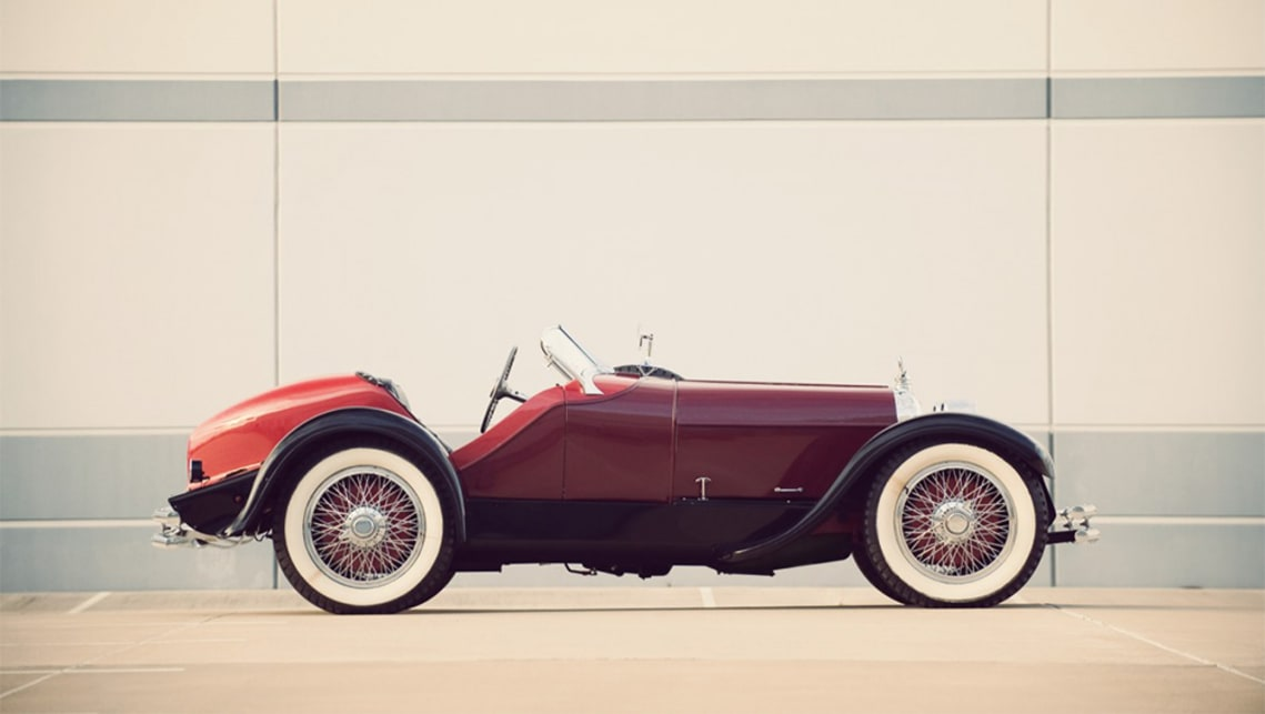 This Speedster body would sit on top of the frame. (image credit: Silodrome)