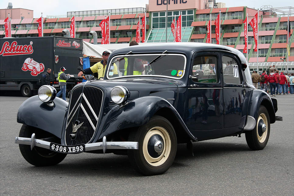 The 1934 Citroen Traction Avant. (image credit: Wiki Commons)