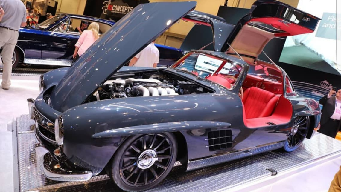 Americans hot rod the world's first supercar - the ...