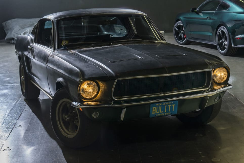 Bullitt Mustang comes out of hiding for first time in 50 years ...