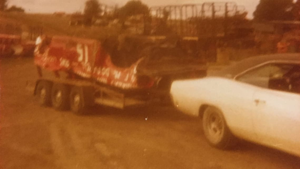 Ther Charger was used for towing duties, carting the wrecks from Jim's demolition derbies. (image credit: Survivor Car Australia)