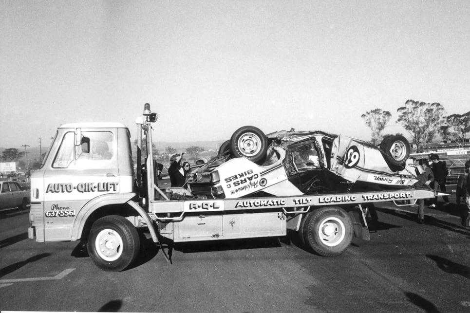 Bill Brown didn't just roll at Bathurst once | CarsGuide - OverSteer