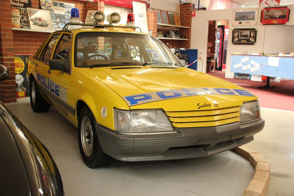 As part of its life with the Victorian Police Force, it was used in a legal drag way program.(image credit: Ross Vasse)