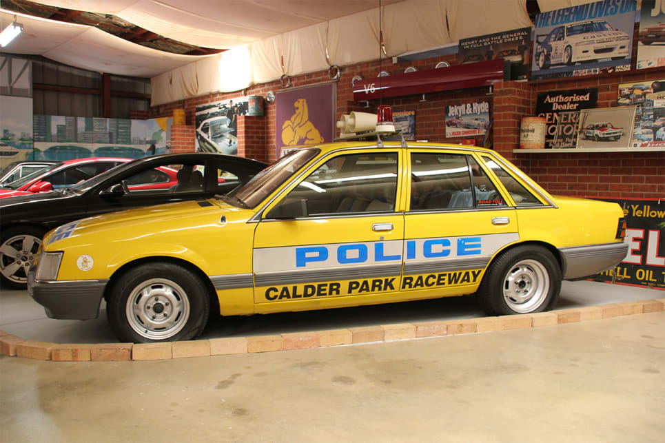 The car is on display at the National Holden Museum. (image credit: Ross Vasse)