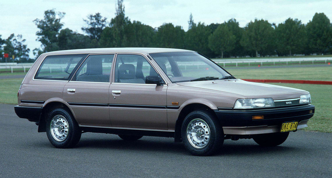 the Camry was a neat, pleasant looking car, with smooth lines and classic proportions.