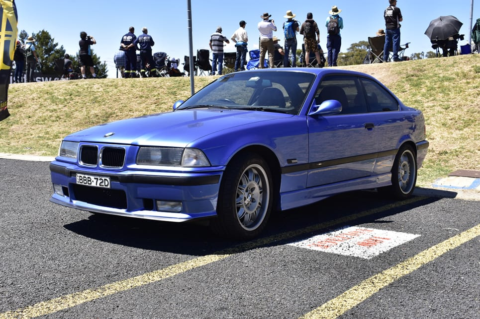 Not the most loved M3 but at least it has that amazing straight-six engine. (image credit: Mitchell Tulk)