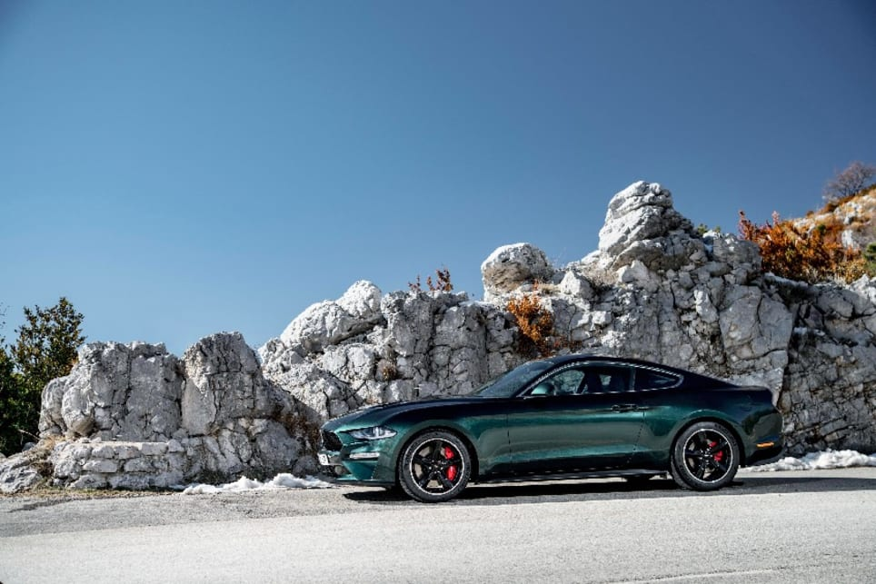 Ford's Mustang Bullitt will command a $10k price premium in the UK.