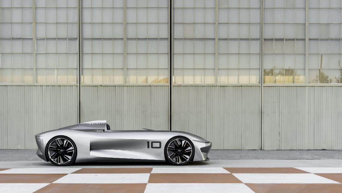 The Prototype 10 gives us a hint or two about the technology, powertrains and design direction of the next wave of Infiniti product.