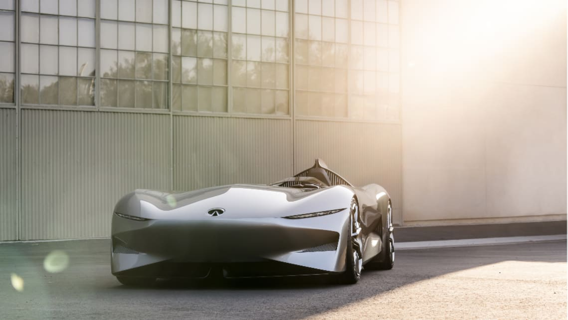 The Prototype 10, intended to celebrate the USA speedster designs of yesteryear, was also the very first project from the brand's new Executive Design Director, Karim Habib.