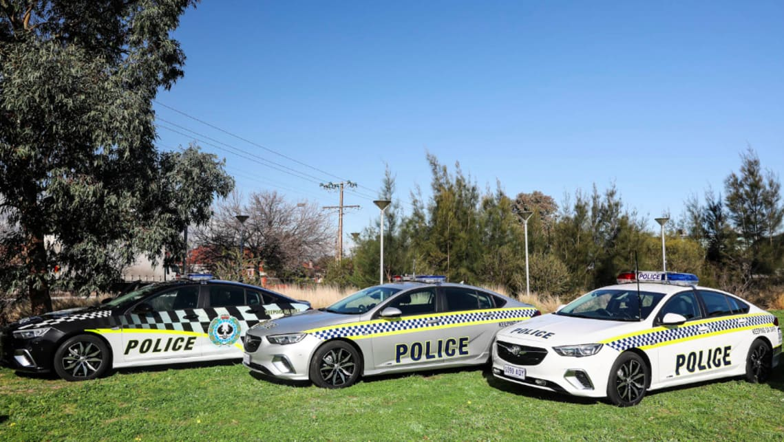Police have exclusively opted for the RS trim - powered by a 3.6-litre V6 good for 235kW and 381Nm, sending that power to all four wheels via a nine-speed gearbox.