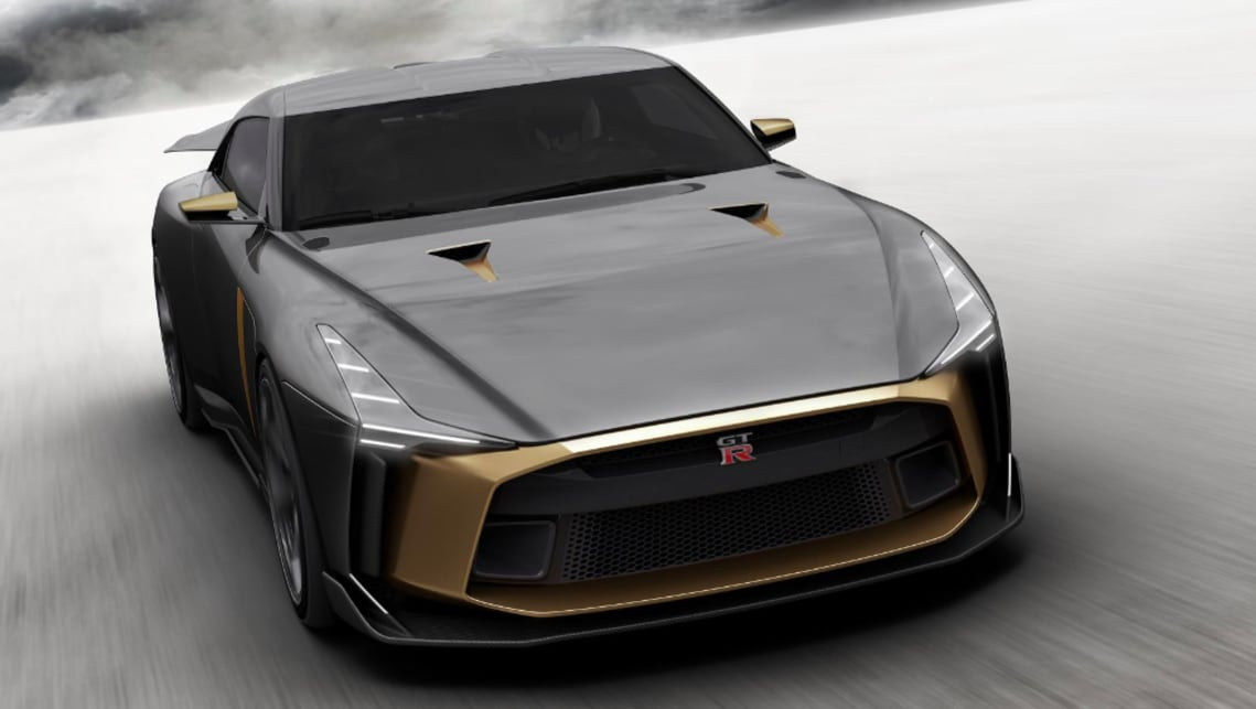 The GT-R50 is estimated to start at 900,000 Euro. Yes, that's $1.416m.