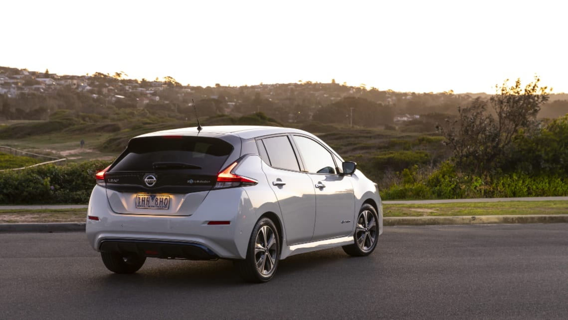 Because of the 40 kWh battery pack, is now able to travel 270km on a single charge.