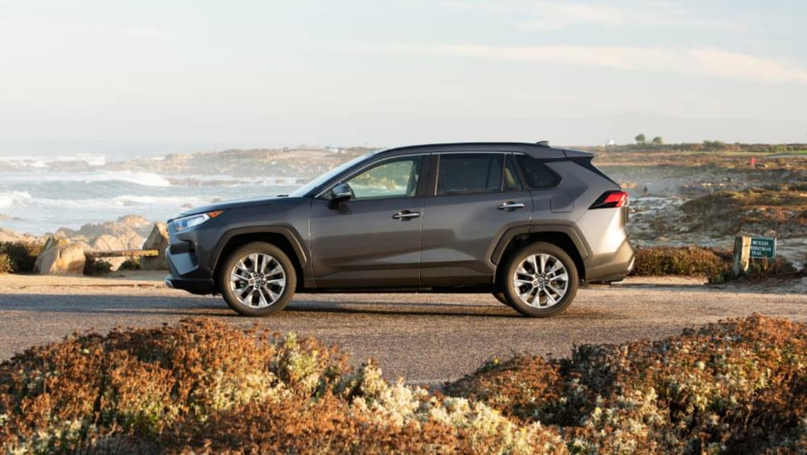 The new RAV4 will hit dealers in the second quarter of 2019.