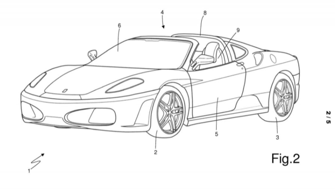 While the patented design could hit the 488's successor, it's also likely to be featured on limited-models too.