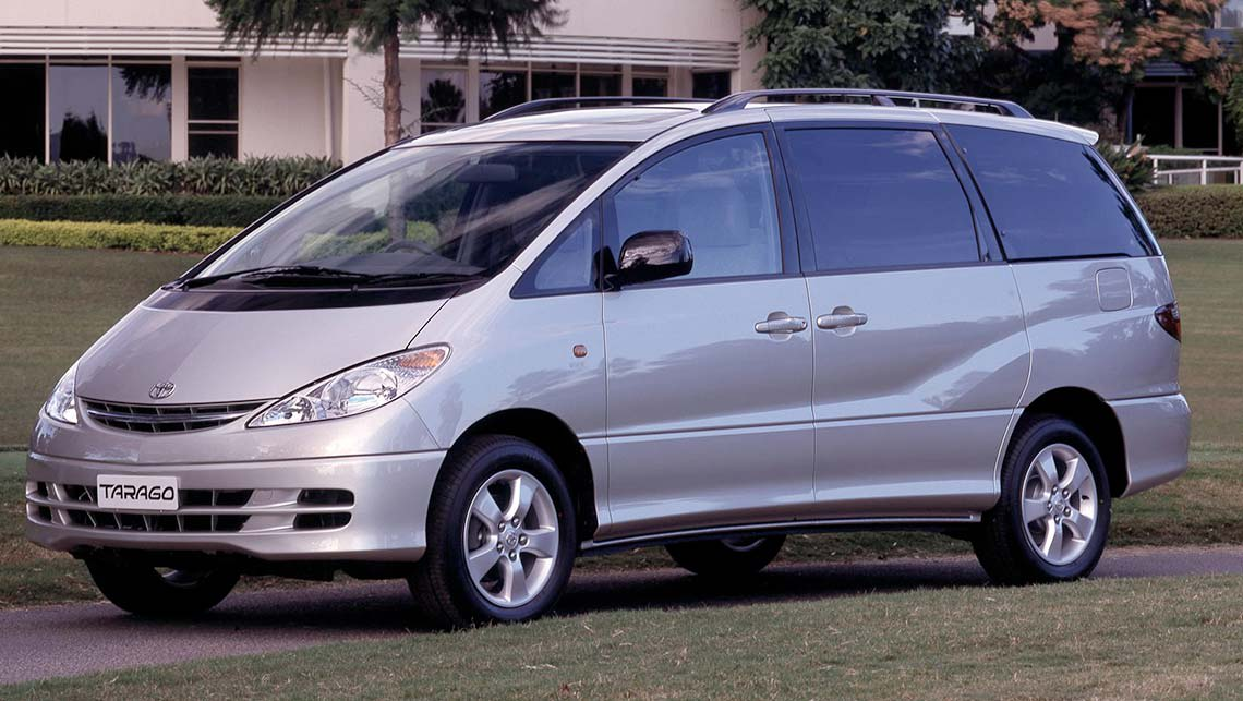 toyota tarago used review 1990 2013 carsguide