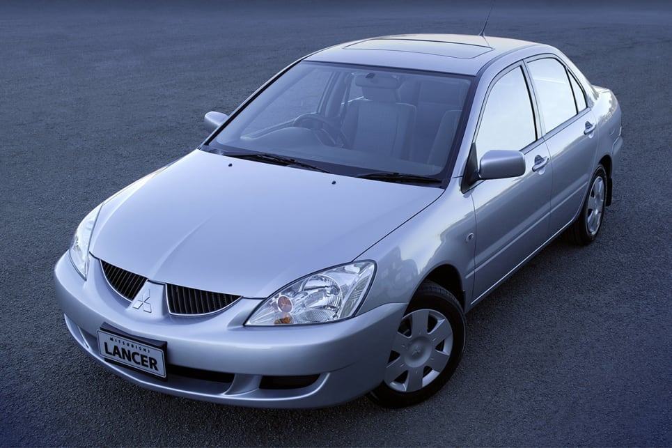 2003 Mitsubishi Lancer sedan. (LS variant shown)