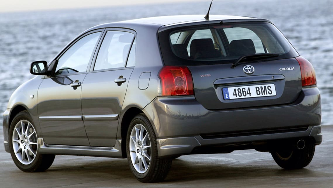 toyota corolla 2003 review | carsguide