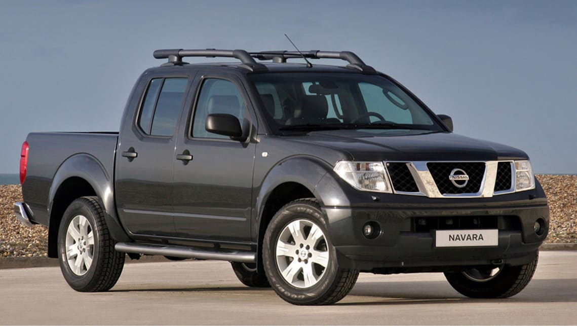 Nissan Navara ST R 2004 Review