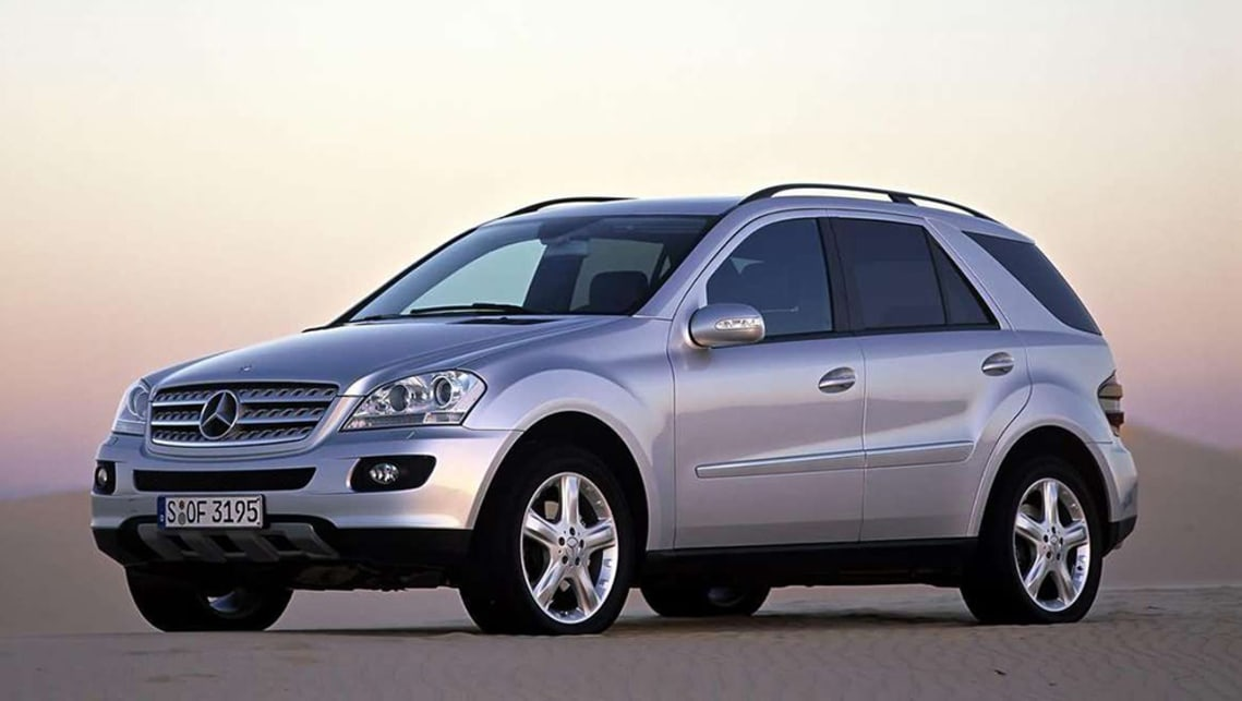 Mercedes-Benz M-Class 2005 Review   CarsGuide