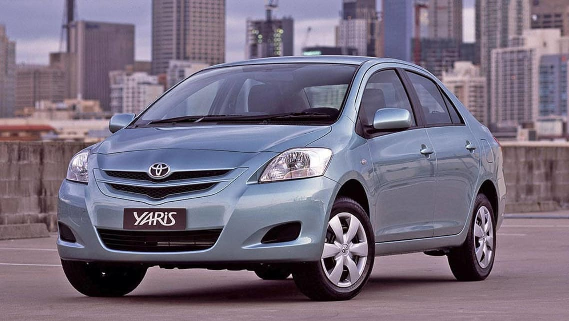 2006 Toyota Yaris Sedan.