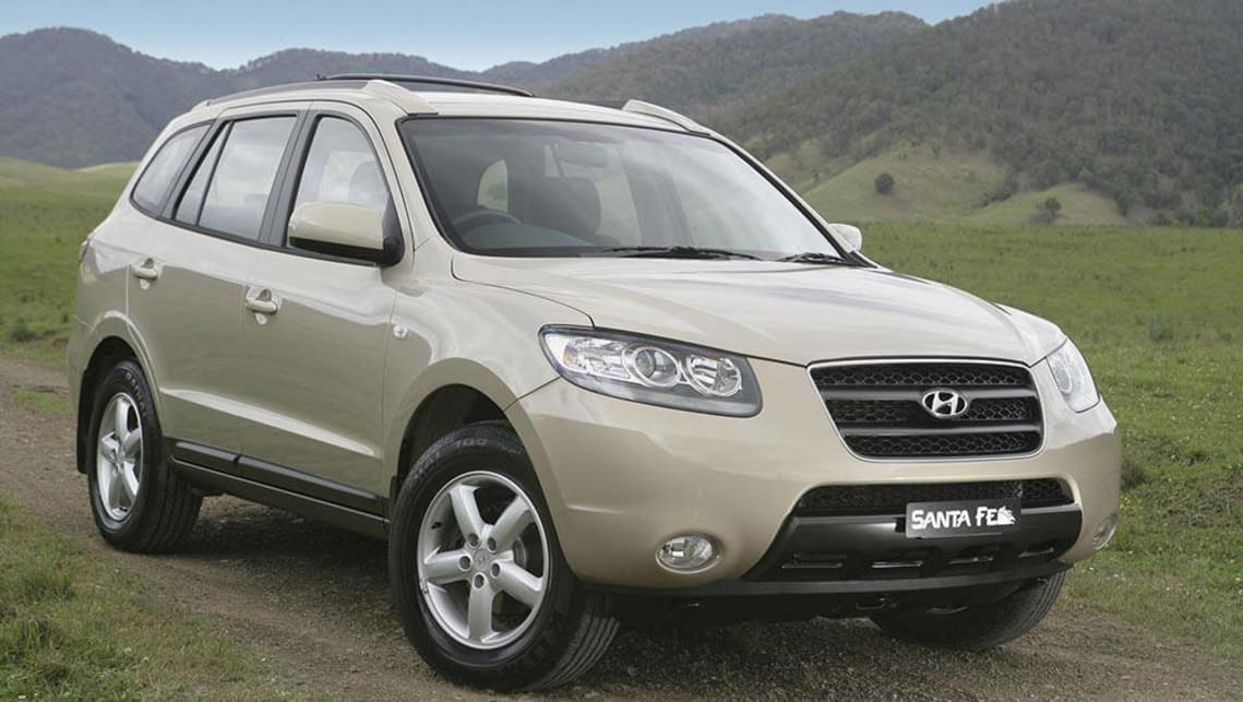 used hyundai santa fe review 2000 2015 carsguide. Black Bedroom Furniture Sets. Home Design Ideas