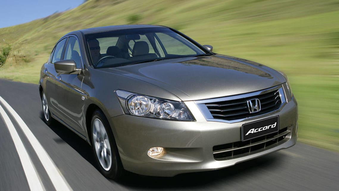2008 Honda Accord VTi.
