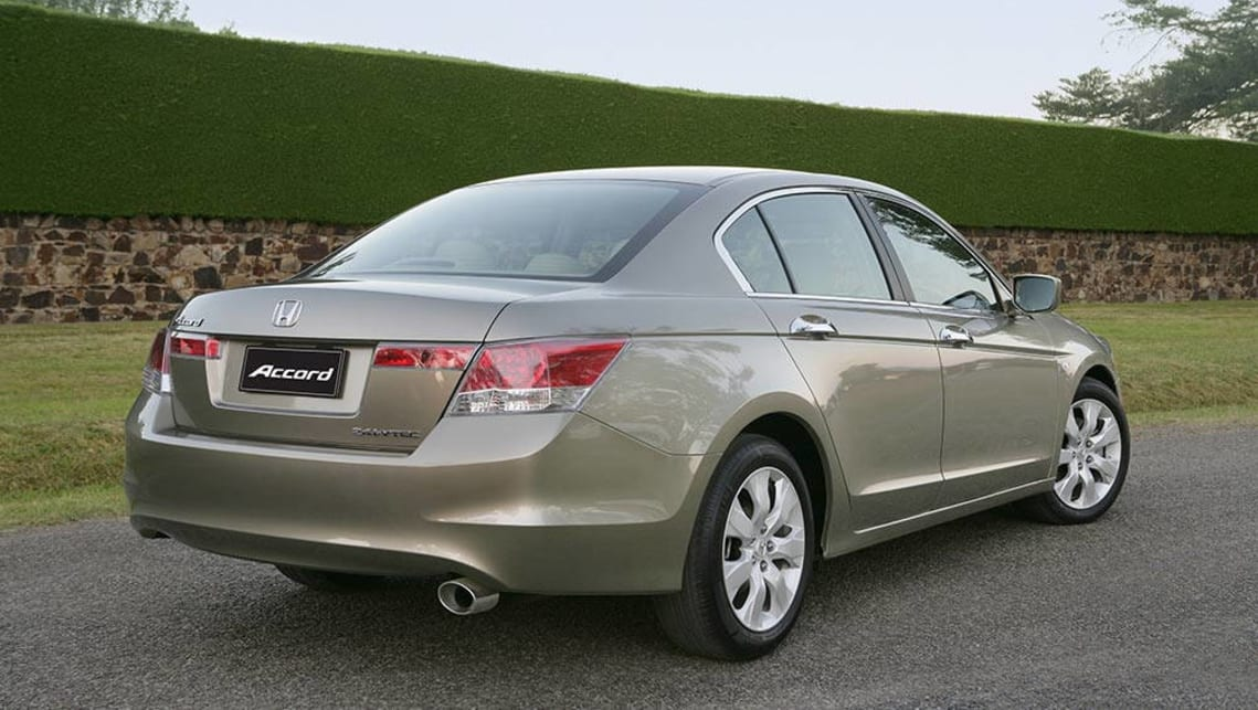 Charming 2008 Honda Accord VTi.