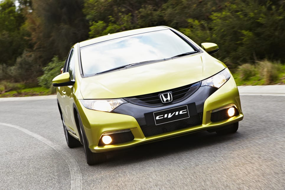 Charming 2012 Honda Civic VTi L Sedan.